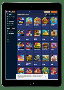 Casino en ligne bondibet mobile