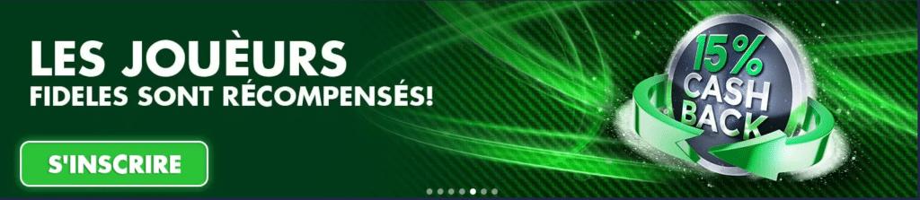 Casino en ligne Bondibet page de démarrage